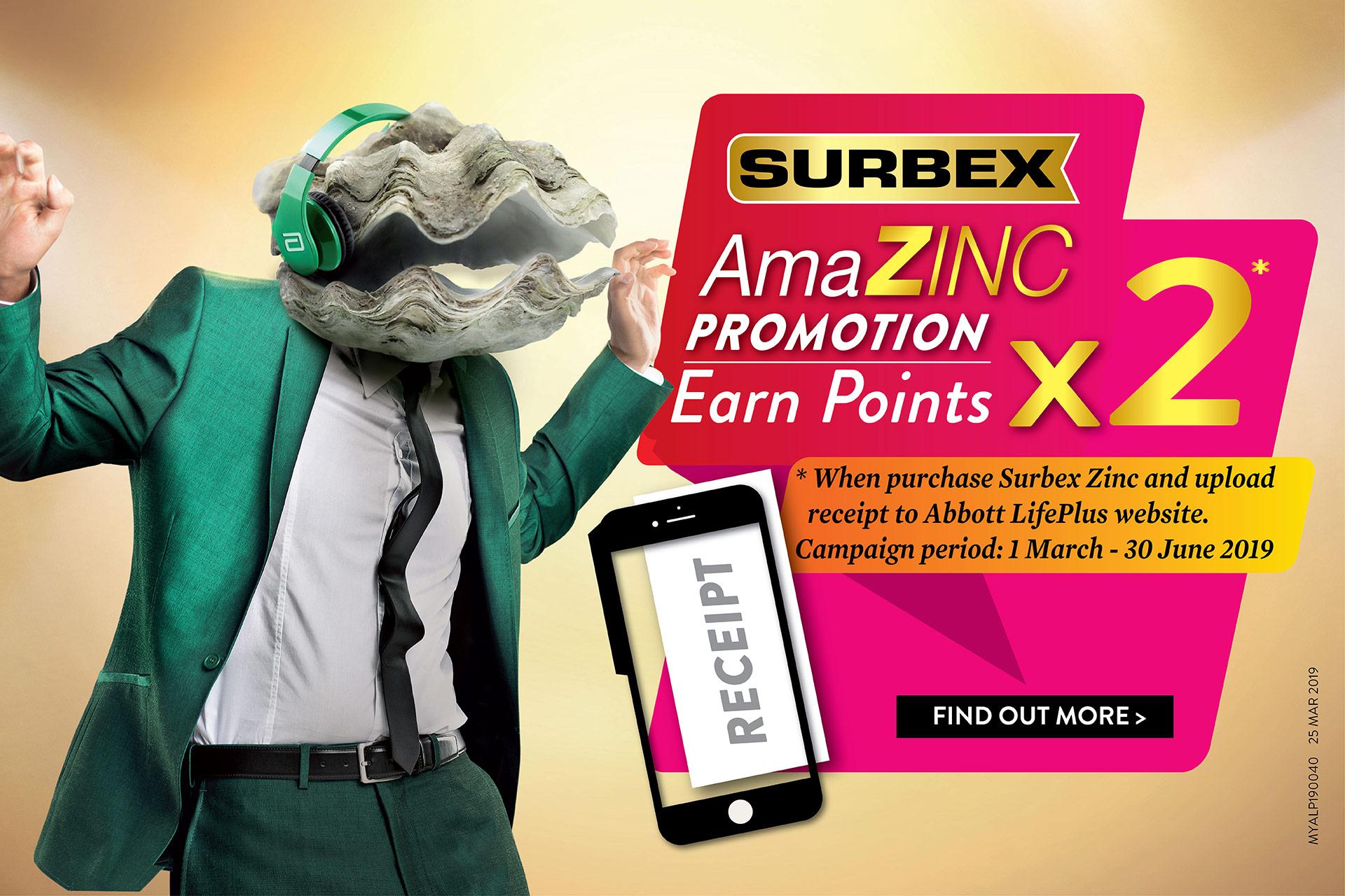 Surbex Zinc2019