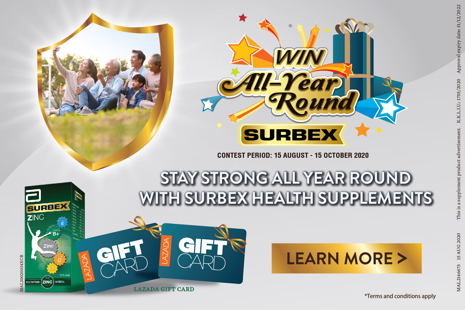 Win All Year Round SURBEX