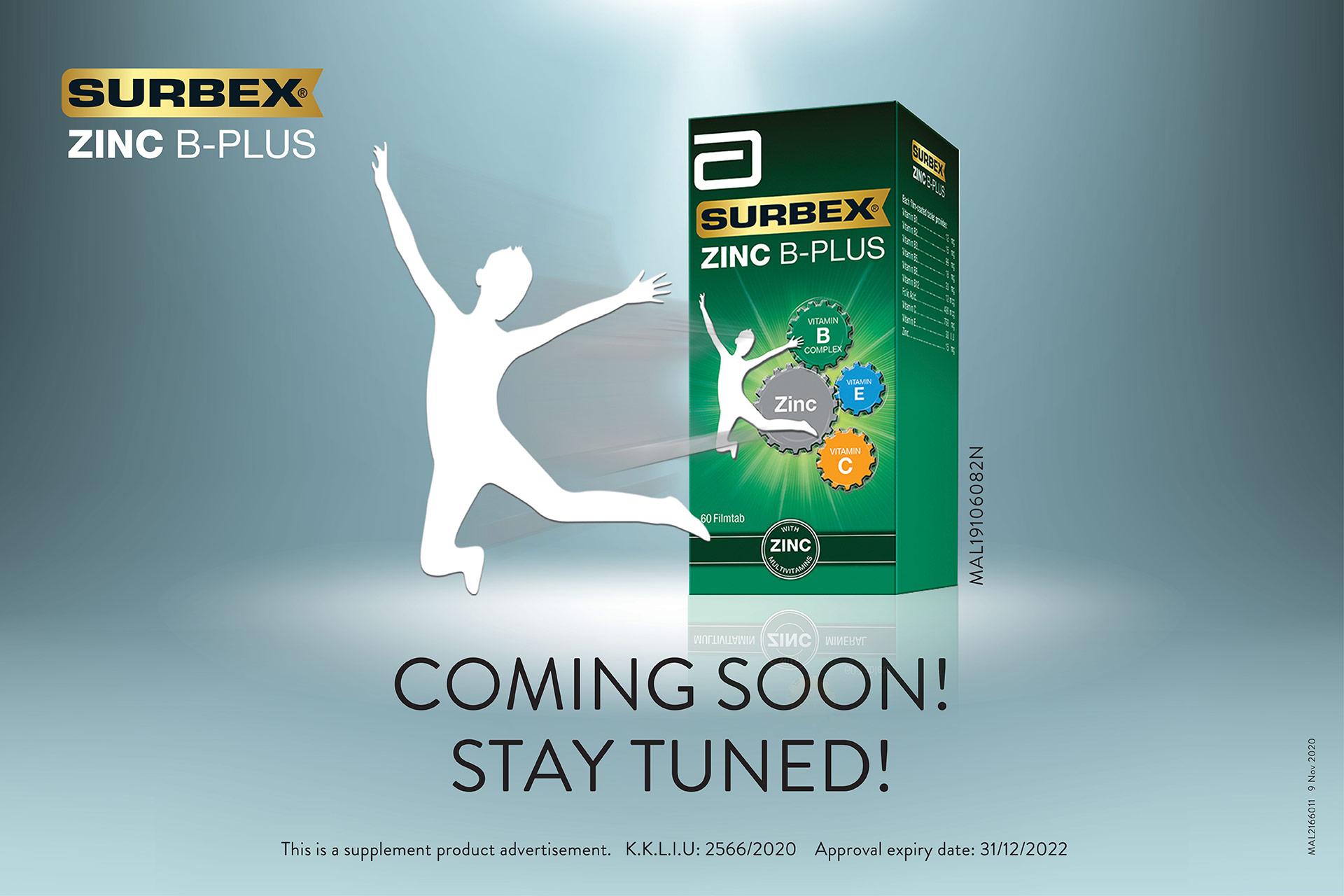 Surbex Zinc B-Plus Teaser