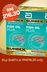 Surbex BE Fish Oil Plus