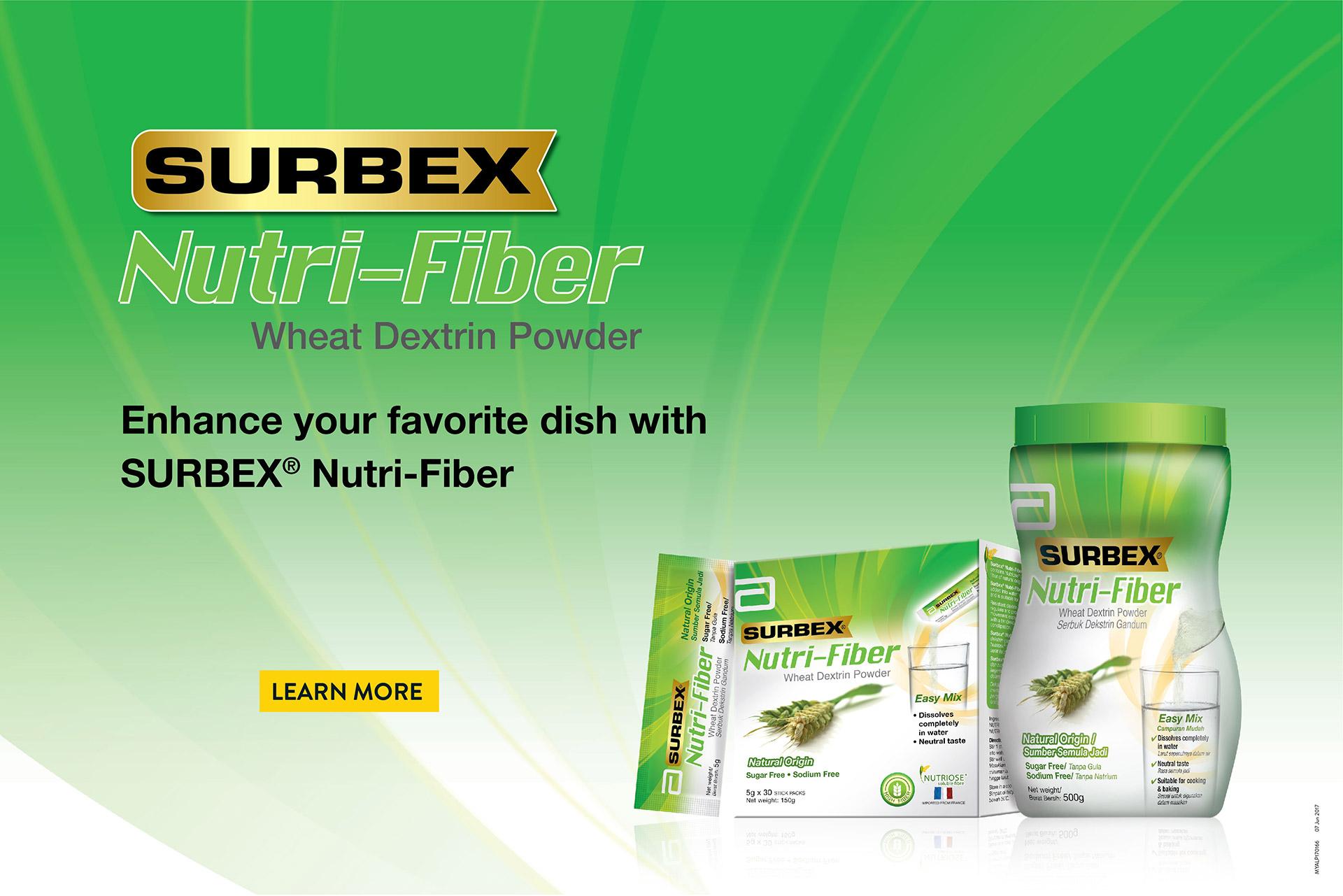 Surbex Nutri-Fiber Recipes