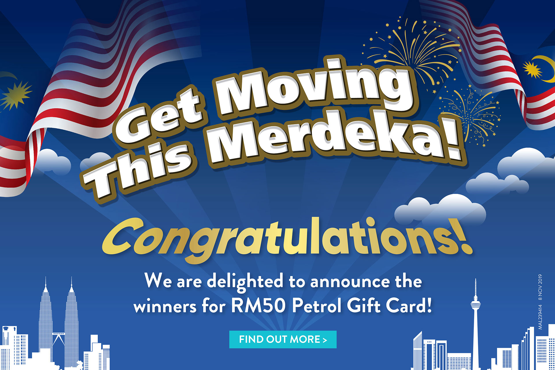 Get Moving This Merdeka - Result