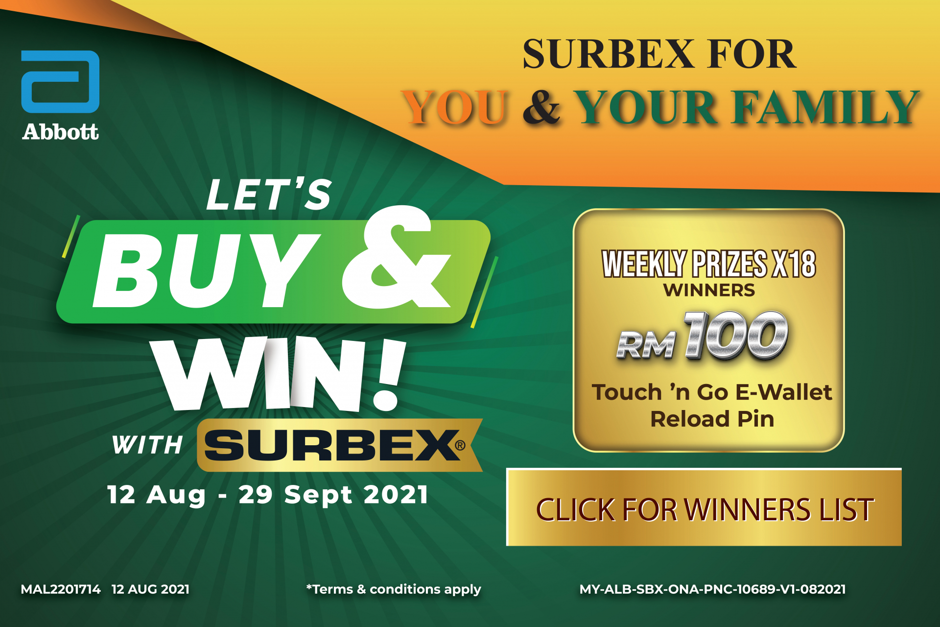 Buy And Win With Surbex
