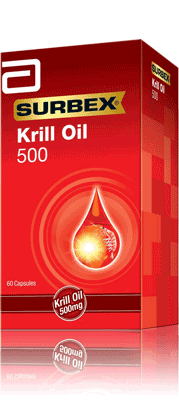 Product Information: Surbex Krill Oil 500