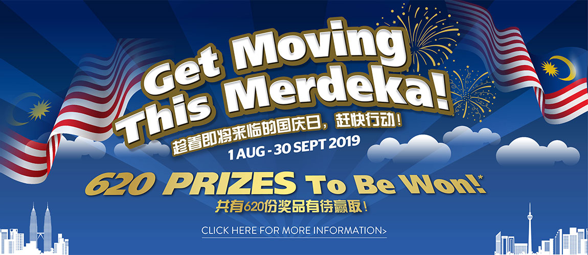 Get Moving This Merdeka